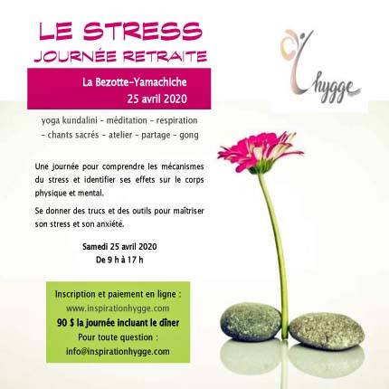 Le stress – Journée retraite 25 avril 2020 - 09h00